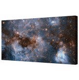Magellanic Cloud Framed Canvas Wall Art Picture