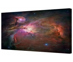 Orion Nebula Framed Canvas Wall Art Picture