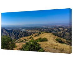 Santa Clarita Canyon Framed Canvas Wall Art Picture