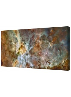 Carina Nebula Star Birth Giclee Space Framed Canvas Wall Art Picture