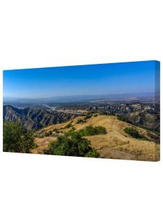 Santa Clarita Canyon Framed Canvas Wall Art Picture